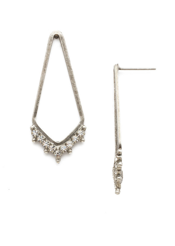 Sorrelli Crystal Free Fall Earring