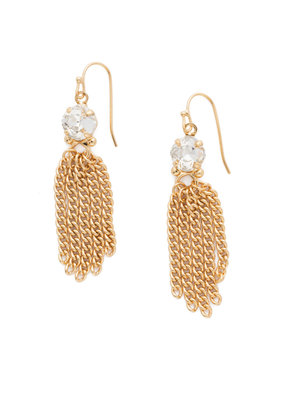 Sorrelli Crystal Chain Gang Earring