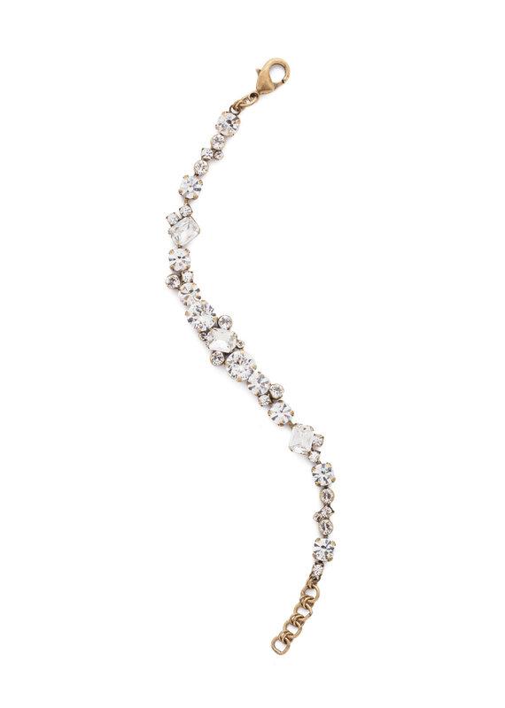 Sorrelli Crystal Geo Classic Line Bracelet