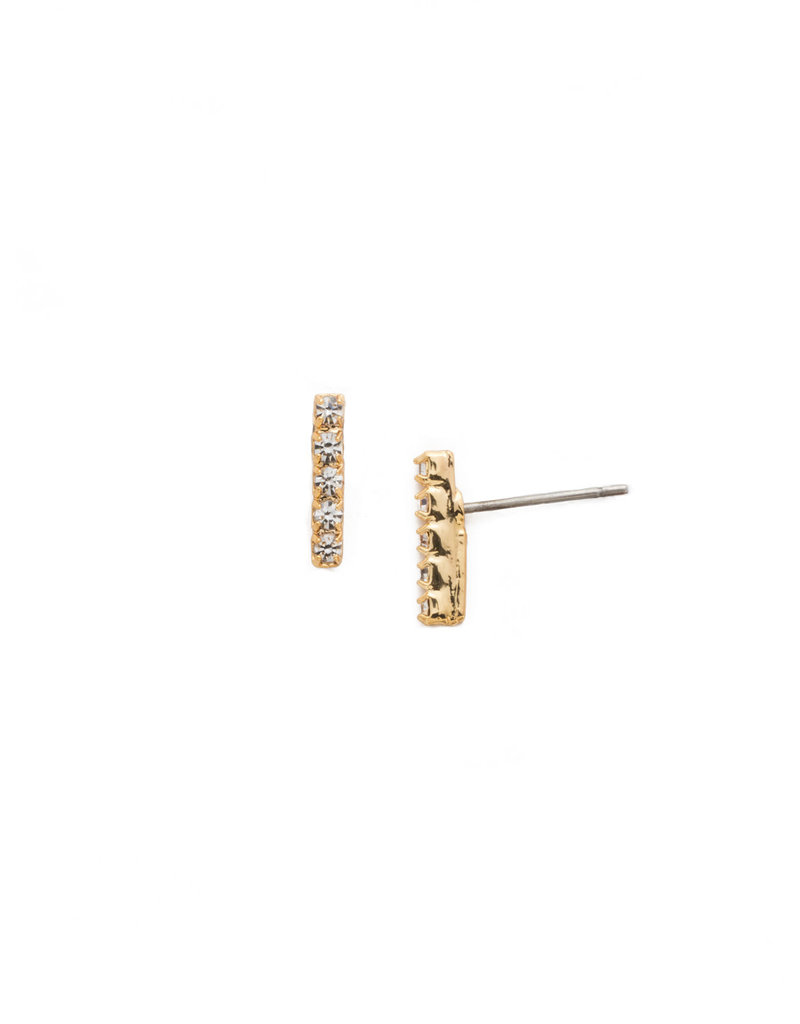 Sorrelli Crystal Rhinestone Bar Post Earring