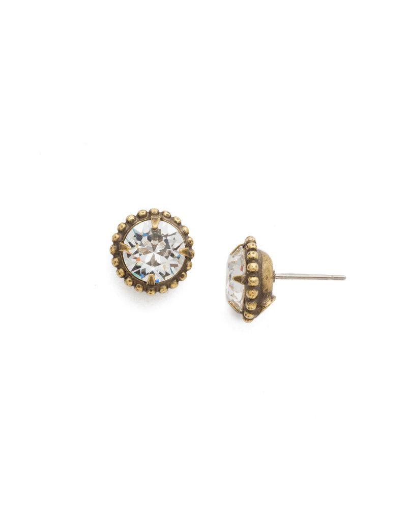 Sorrelli Crystal Simplicity Stud Earring