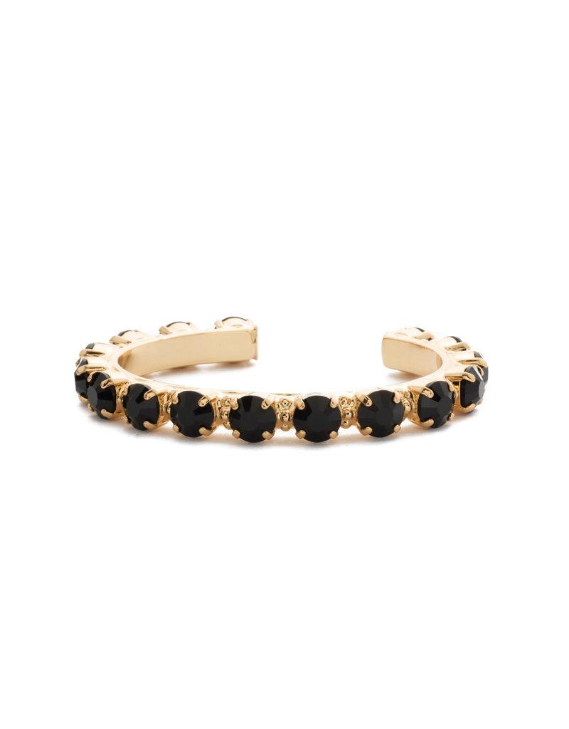 Sorrelli Jet Riveting Romance Cuff Bracelet