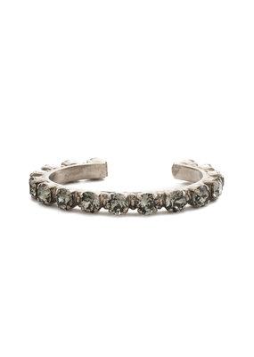 Sorrelli Black Diamond Riveting Romance Cuff Bracelet
