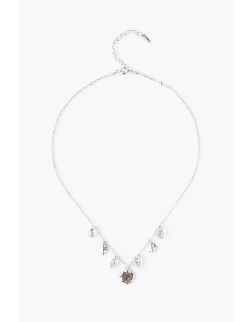 CHAN LUU Silver Shade Crystal Necklace