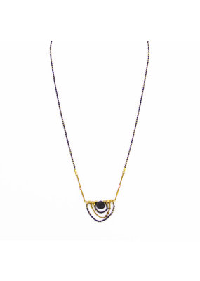 Santoré Iolite Drape Necklace