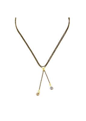 Santoré Labradorite X Choker Necklace