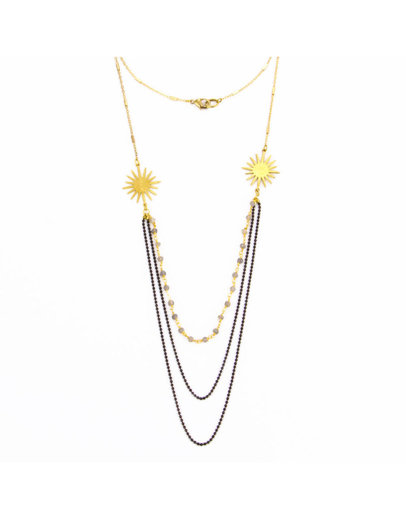 Santoré Long Sunshine Chandellier Necklace