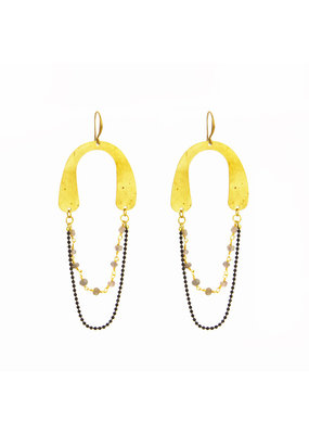 Santoré Golden Arch Earrings