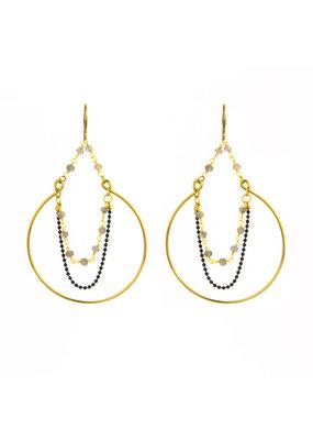 Santoré Boho Hoop Earrings