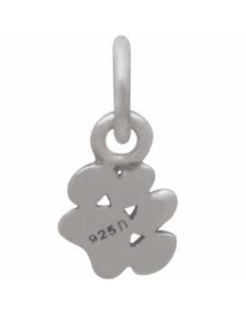 Sterling Silver Tiny Puffy Paw Charm