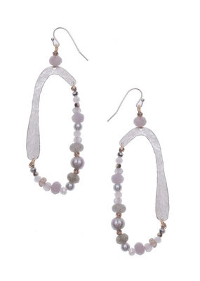 Nakamol Gray Zolea Earrings