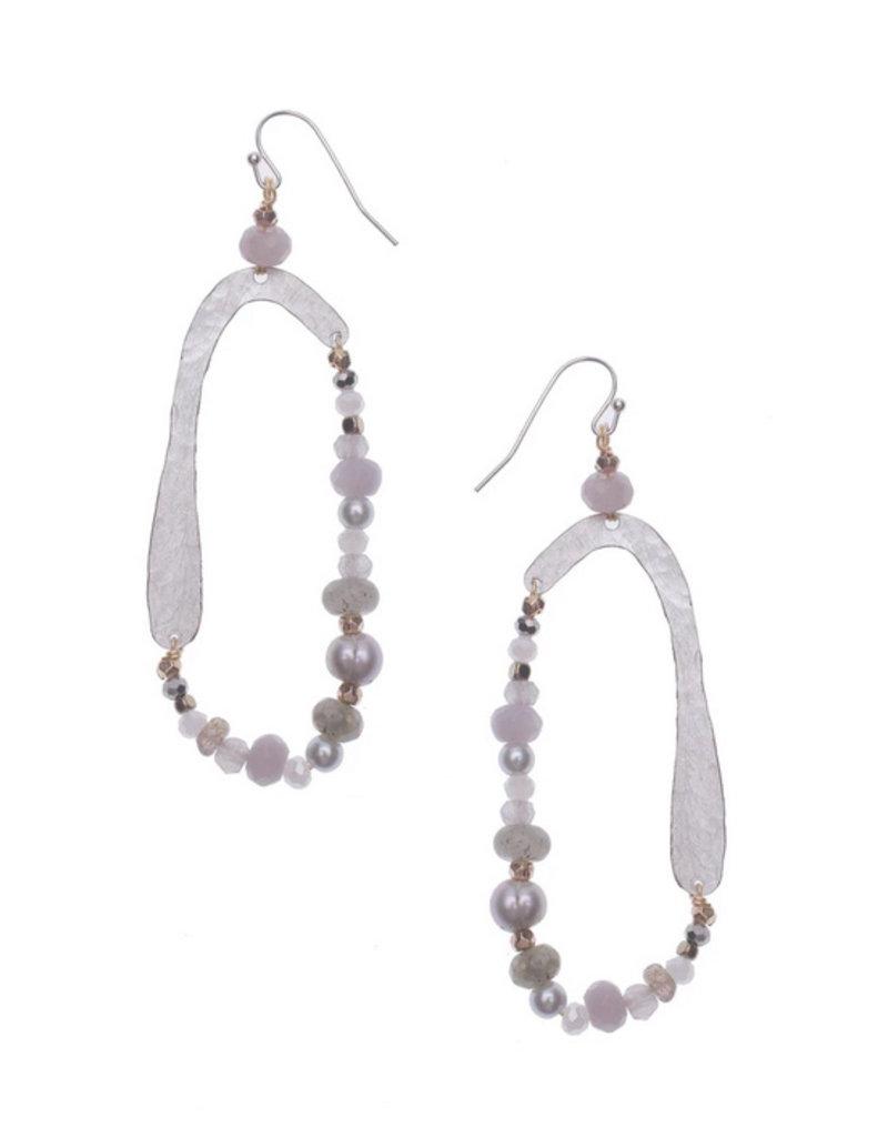 Nakamol Gray Zolea Earrings
