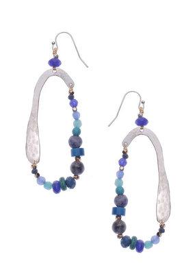 Nakamol Blue Zolea Earrings