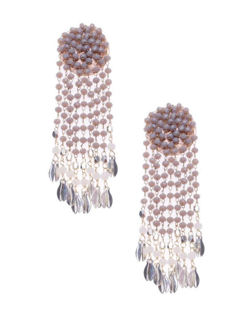 Nakamol Gray Leida Earrings