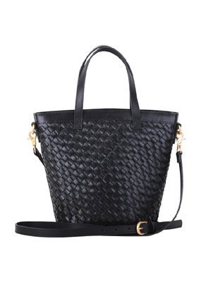 Most Wanted USA Top Handle Black Carry All Essential Weave