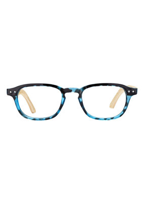 Blue Planet Berkeley Blue Tortoise Bamboo Readers