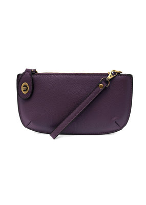 Joy Susan Orchid Mini Crossbody Wristlet Clutch