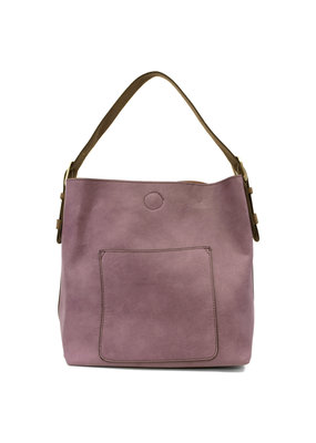 Joy Susan Orchid Hobo Coffee Handle Handbag