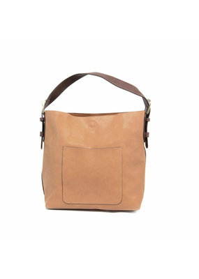 Joy Susan Toffee Hobo Brown Handle Handbag