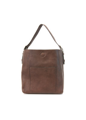 Joy Susan Brown Hobo Brown Handle Handbag