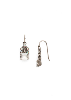 Sorrelli White Bridal Crowning Glory Earring