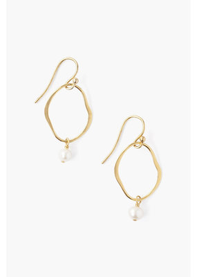 CHAN LUU Freshwater Pearl Matisse Earrings