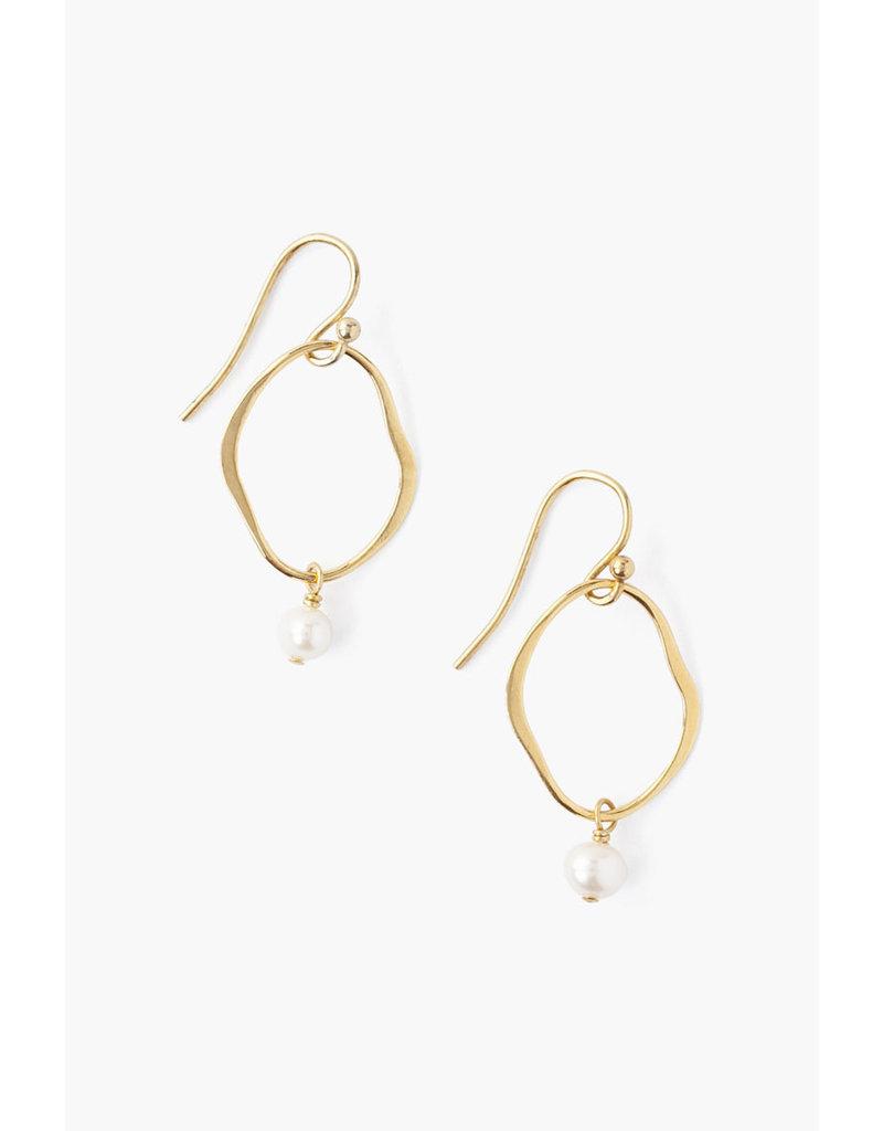 CHAN LUU Freshwater Pearl Matisse Earrings