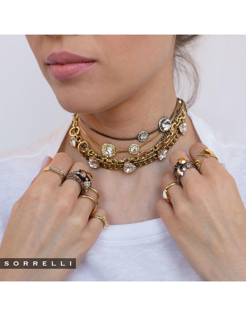 Sorrelli Double Up Stackable Rings in Heavy Metal