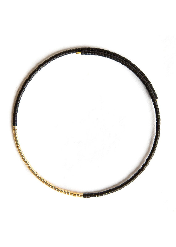 Lenny & Eva Noah Bangle Matte Black