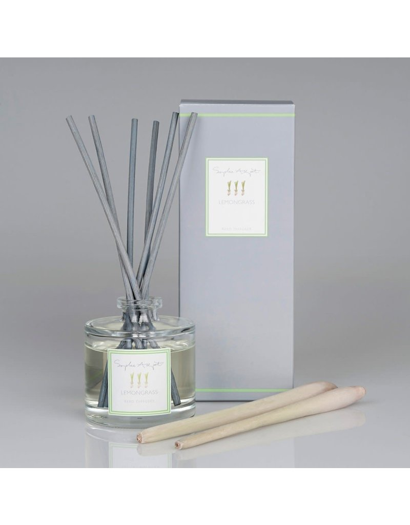 Lemongrass Scented Reed DIffuser 100mL