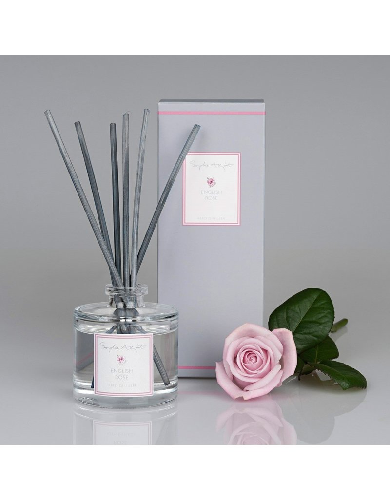 English Rose Scented Reed Diffuser 100mL