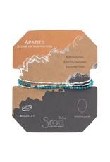Scout Apatite Delicate Stone Wrap