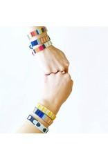 Ink + Alloy Mint Terra Cotta Gold Black Friendship Bracelet