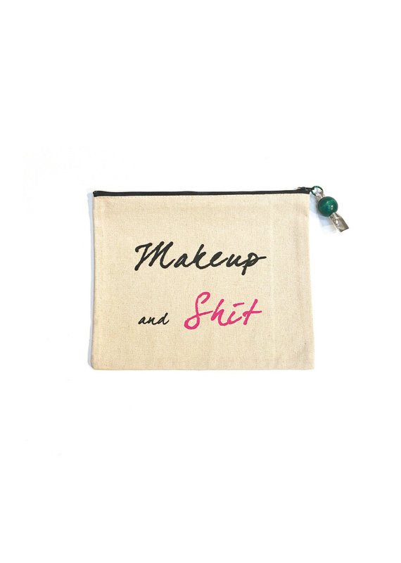 Marcia Made It Make-Up & Shit Pouch