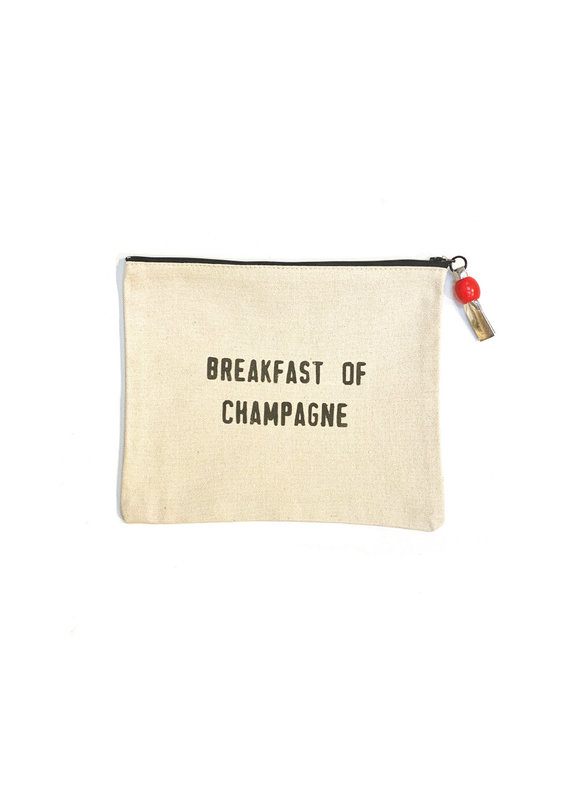 Marcia Made It Breakfast of Champagne Pouch