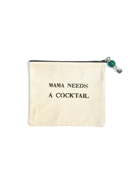 Marcia Made It Mama Needs a Cocktail Pouch