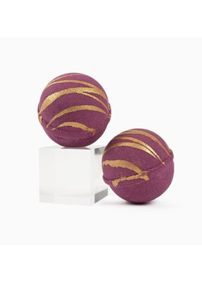 Cait +Co Garnet Bath Bomb