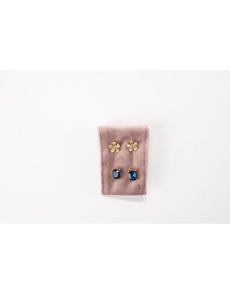 Violet & Brooks Cadence Earring Duet Sapphire