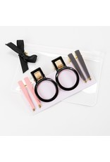 Violet & Brooks Melanie Geo Hair Clip Set Neutral
