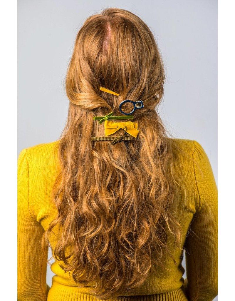 Violet & Brooks Melanie Geo Hair Clip Set Bright
