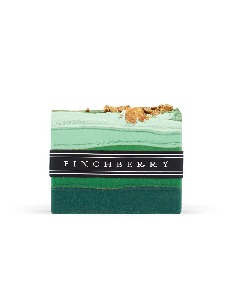 FinchBerry Emerald Bar Soap