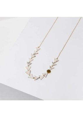 Larissa Loden Howlite Aim Necklace
