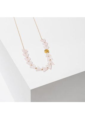 Larissa Loden Rose Quartz Aim Necklace