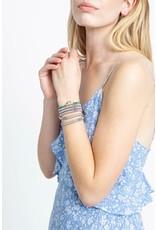 CHAN LUU Turquoise Mix Evil Eye Charm Bracelet