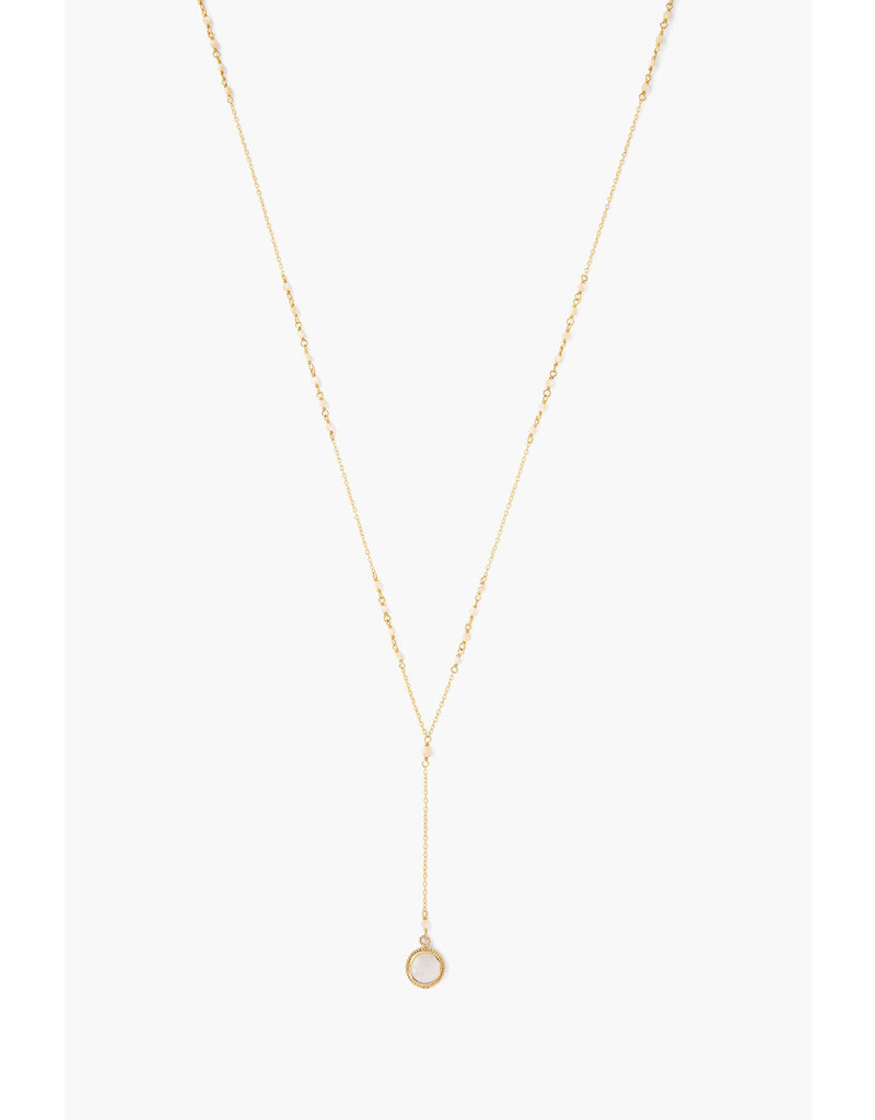 CHAN LUU Natural Mix Pendant Y-Necklace