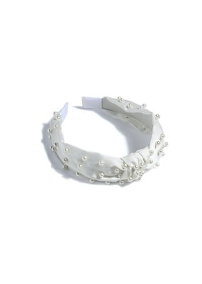 Shiraleah Pearl Headband Ivory