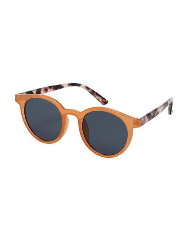 Blue Gem Orange & Blush Tortoise w Smoke Lens