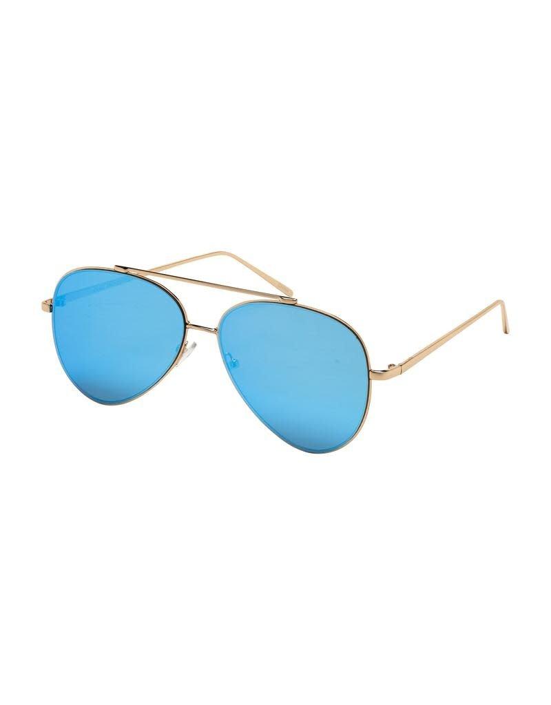 Blue Gem Gold w Blue Mirror Lens