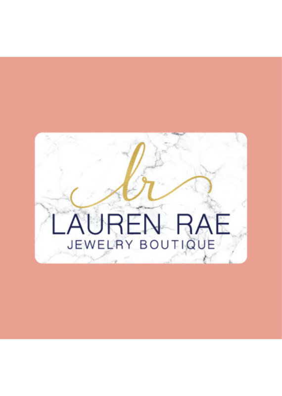 Lauren Rae Virtual Gift Card