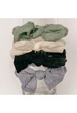 Crinkled Bow Scrunchie